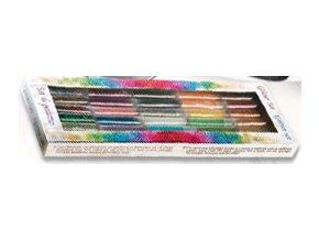 Dekorační glitrový prášek - Glitter set 30 dóziček