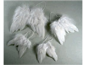 Andělská křídla dekorační cca 9,5x7,5cm
