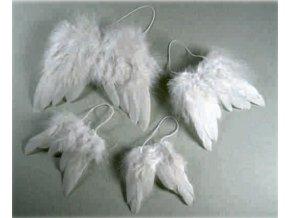 Andělská křídla dekorační cca 10,5x9,5cm