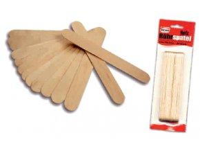 Dřevěná špachtle - sada 24ks