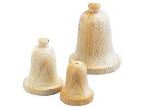 Zvoneček dřevěný 40x50 mm
