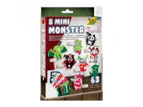 Minimonsters - sada filců pro výrobu figurek