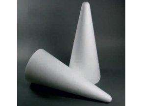 Polystyrenový kužel - 20cm