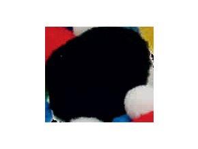 Pompons - 20mm - černá