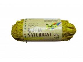 Přírodní lýko 50g - žluté