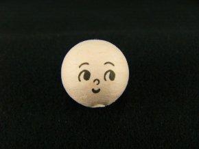 Vatová koule s potiskem - 3cm tělová
