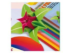 Origami papír - jednostraný 13x13cm