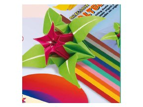Origami papír - jednostraný 19x19cm