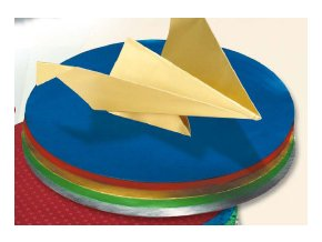 Origami papír - oboustraný kulatý - 10cm