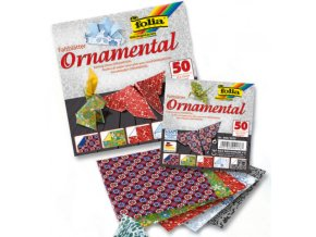 Origami papír ORNAMENTAL 80g - 10x10cm