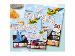 Origami papír JAPAN 80g - 50 listů 20x20cm