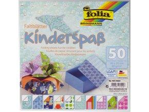 Origami papír Kinderspas 50ks, 80g - 15x15cm