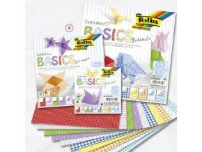 Origami papír INTENSIV 80g - 10x10cm