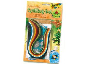 Quilling sada - 290 dílů Vánoce