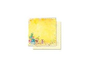 Scrapbooking papír Párty 30 x 30cm/190g - Motiv 03