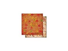 Scrapbooking papír Podzimní 30 x 30cm/190g - Motiv 01