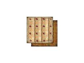 Scrapbooking papír Podzimní 30 x 30cm/190g - Motiv 02