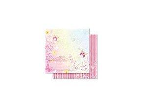 Scrapbooking papír Romantik 30 x 30cm/190g - Motiv 04