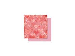 Scrapbooking papír Romantik 30 x 30cm/190g - Motiv 08