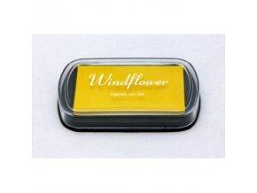Polštářek pro razítkování - žlutá - 4