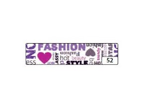 Washi lepící páska 10m x 15mm - fashion