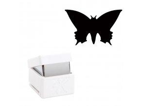 Děrovačka s motivem Xcut - Motýl S 1cm