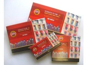 Sada 24 suchých pastelů Koh-i-noor SOFT 8514