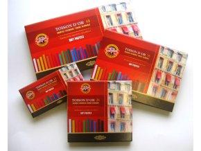 Sada 48 suchých pastelů Koh-i-noor SOFT