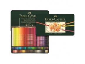 Sada 120 uměleckých pastelek Polychromos Faber-Castell