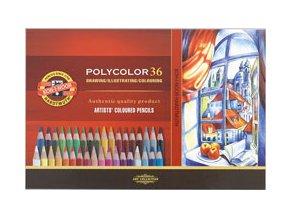 Sada 36 uměleckých pastelek Polycolor Koh-i-noor