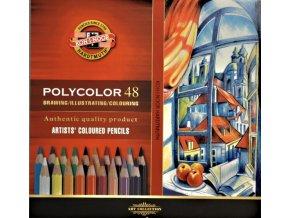 Sada 48 uměleckých pastelek Polycolor Koh-i-noor