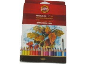 Sada 36 uměleckých akvarelových pastelek Mondeluz Koh-i-noor