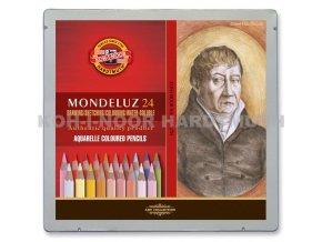 Sada 24 uměleckých akvarelových pastelek Mondeluz portrét, Koh-i-noor