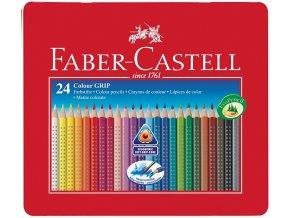 Sada 24 školních akvarelových pastelek GRIP - Faber-Castell