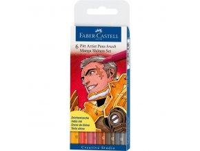 Sada tušových popisovačů Faber-Castell MANGA - Shonen