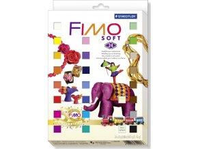 FIMO SOFT 24x25g + formy