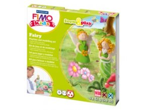 Sada modelovací hmoty FIMO KIDS Fairy 4x 42g - 803404