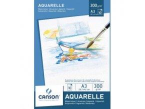 Blok akvarelový 300g Canson - A4 10 listů