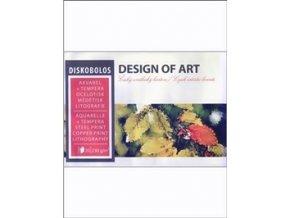 Blok akvarelový 230g, 20 listů DISKOBOLOS - A4