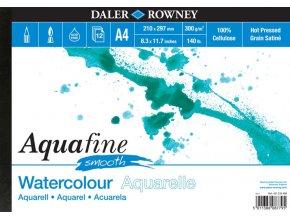 Blok akvarelový 300g Aquafine smooth Daler-Rowney - 12 listů A4