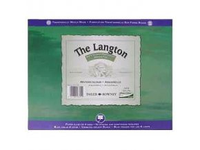 Blok akvarelový 300g The Langton Grain Fin Daler-Rowney - 12 listů, 508x406 mm