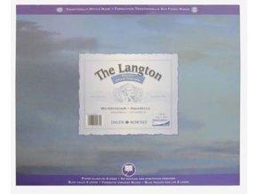 Blok akvarelový 300g The Langton Grain Torchon Daler-Rowney - 12 listů, 508x406 mm