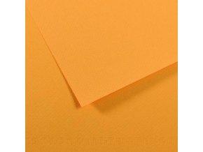 Pastelový papír 160g - č.106  Šafránově žlutá