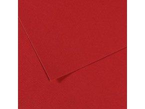 Pastelový papír 160g - č.116  Červená bordeaux