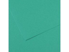 Pastelový papír 160g - č.119  Zelená tyrkysová