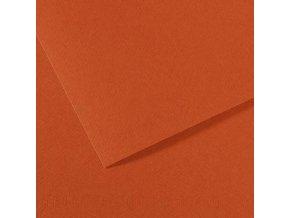 Pastelový papír 160g - č.130 Cihlová