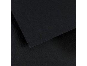 Pastelový papír 160g - č.425  Černá