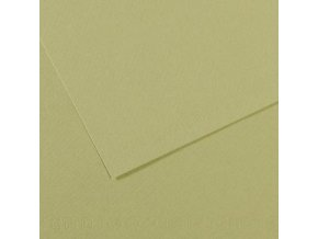Pastelový papír 160g - č.480  Zeleň hrášková