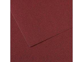 Pastelový papír 160g - č.503  Vínová
