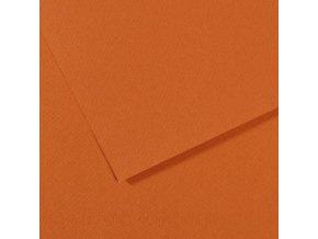 Pastelový papír 160g - č.504 Okr pálený